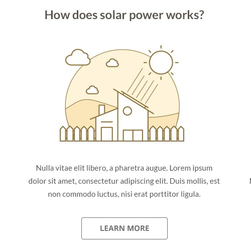 Website for fast growing solar energy company