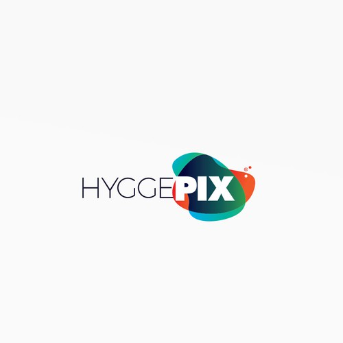 Colorful logo with overlayed colors