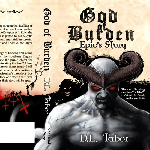 Medieval Adventure book cover - God of Burden - Epic's Story