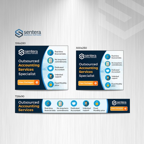 Remarketing banner ads for Outsourced Accounting Services