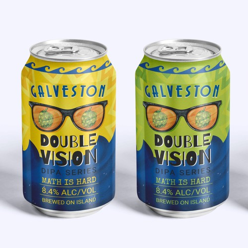 Galveston Island Brewing - Double Vision Series