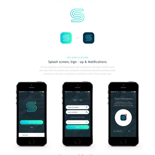 Design of Chinese adverisement app