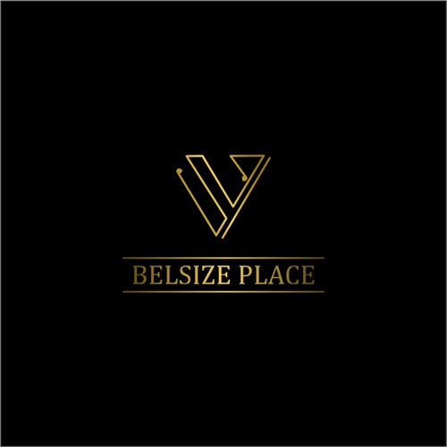 belsize place logo design