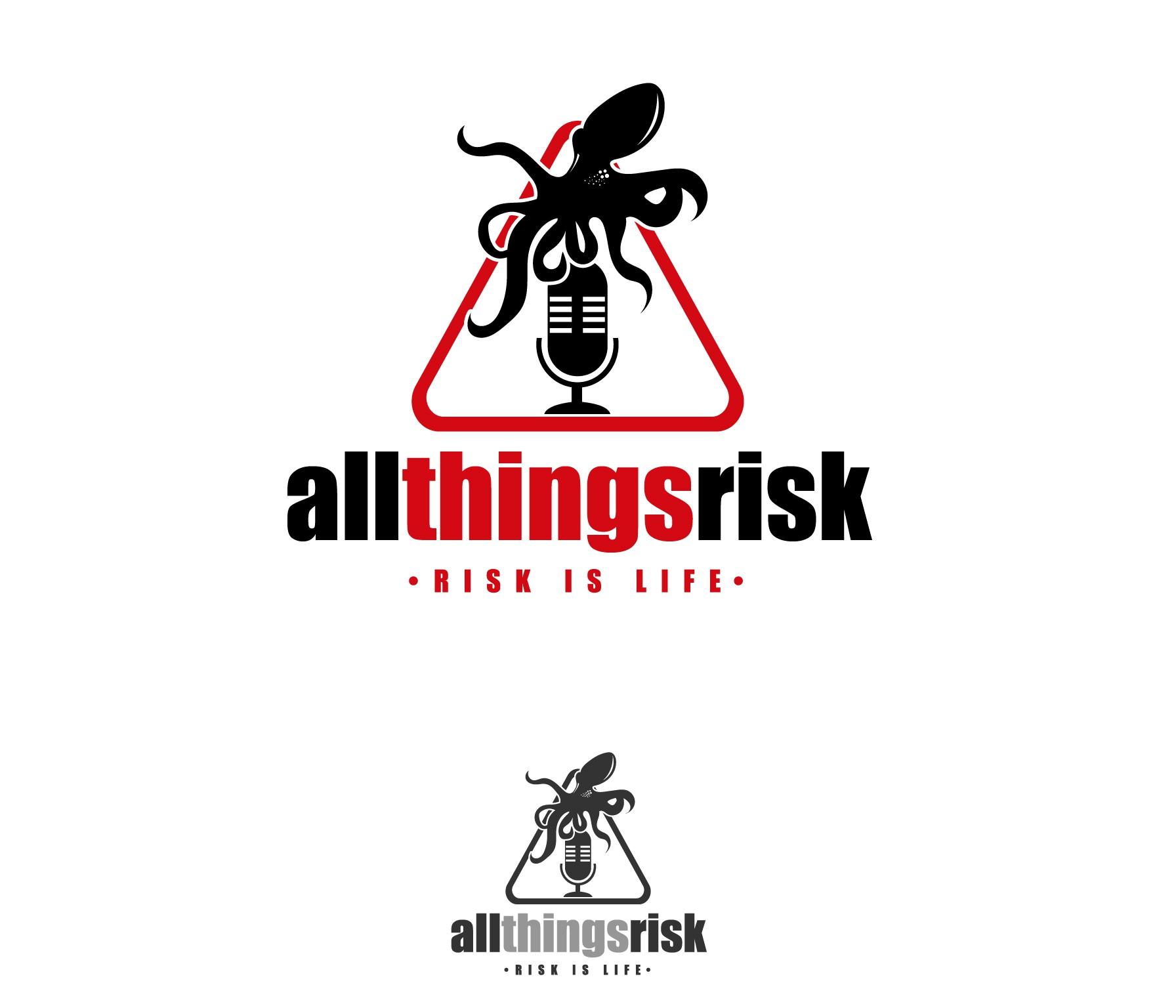 Logo design for All Things Risk