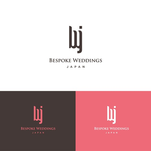 simple logo concept for bwj.