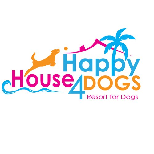 Fun Logo design for Dog Resort