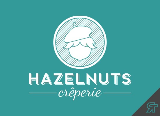 """HAZELNUTS"" Crêperie Needs A Logo ***FUN PROJECT*** Have A Look!!!"