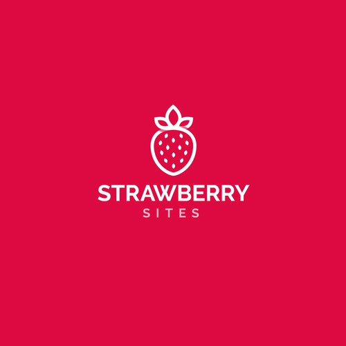 Logo for Strawberry Sites responsive web design service