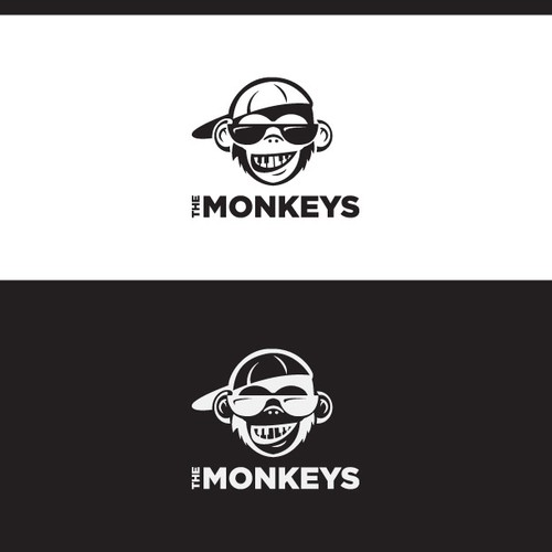 """The MonKeys"" music producer logo"