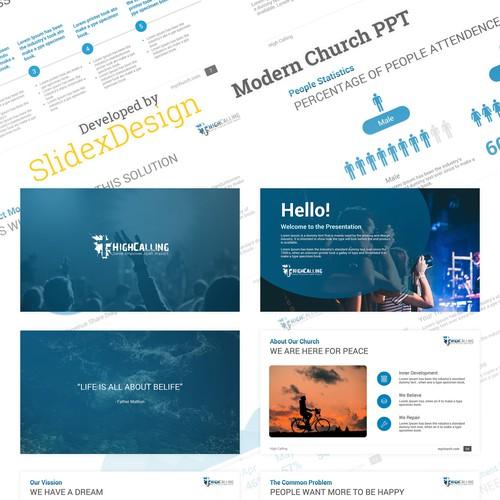 Modern PowerPoint For Church