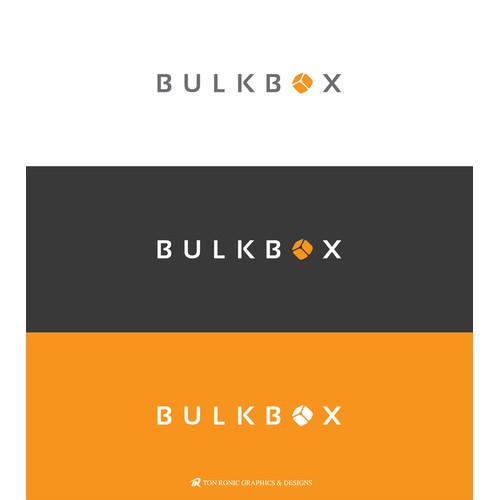 Logo for a unique company BulkBox