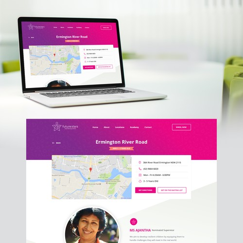 Clean, beautiful and professional website redesign