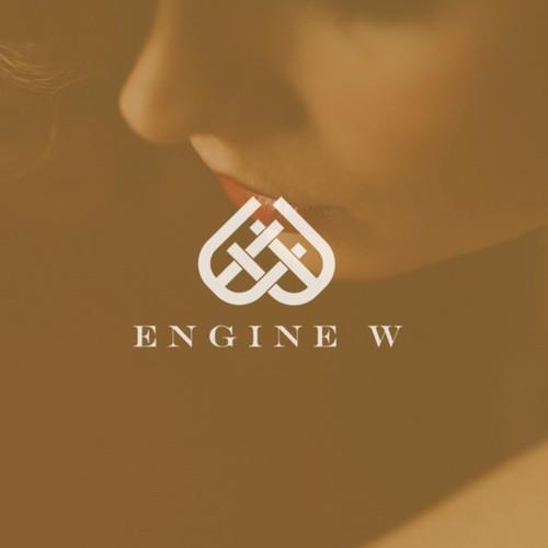 Feminine luxury logo