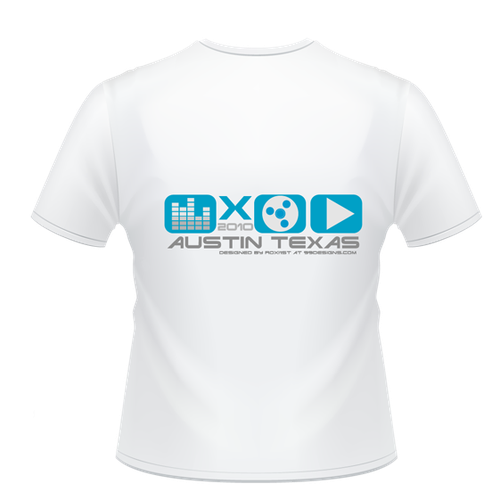 Design Official T-shirt for SXSW 2010