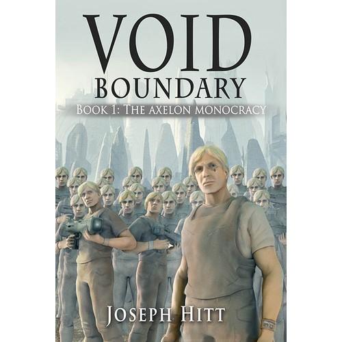 Void Boundary (Cover art for sci-fi novel)