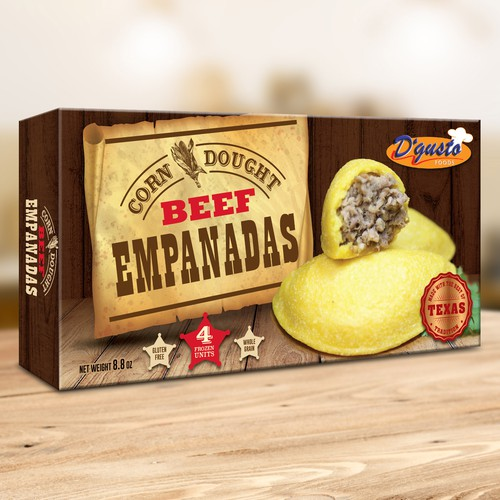 Empanadas Box Design