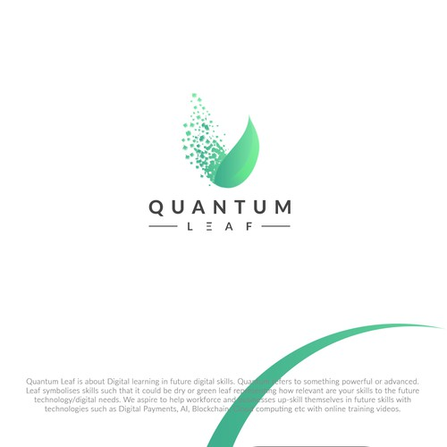Logo design that inspires professionals to invest in their skills for the future
