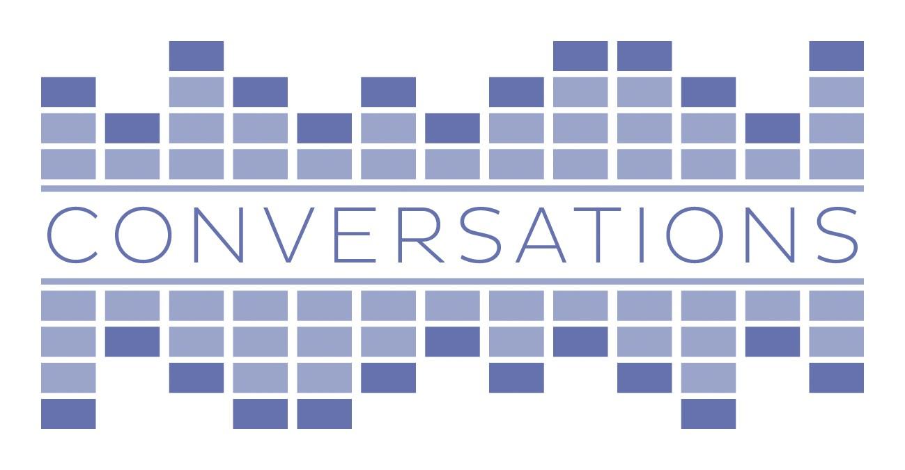 Logo for 'Conversations' talk-format TV series