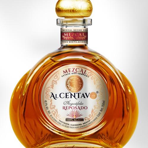 Label Design for High-end Mezcal Tequila