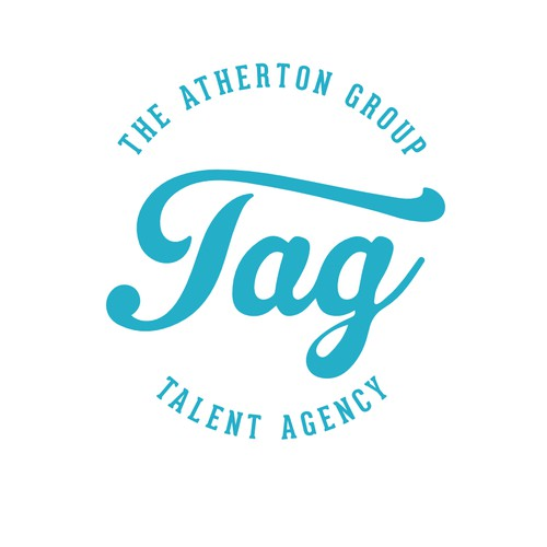 Help The Atherton Group (TAG) Talent Agency with a new logo