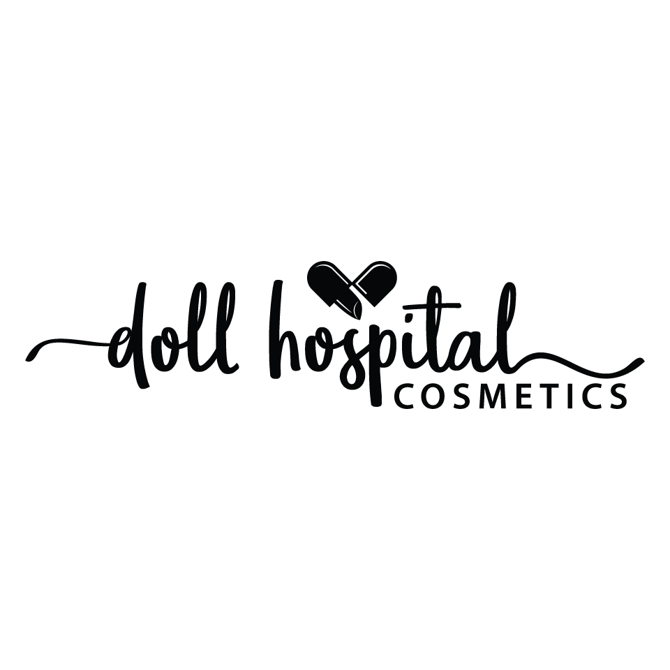 Create a Cool sophisticated Logo for Doll Hospital Cosmetics