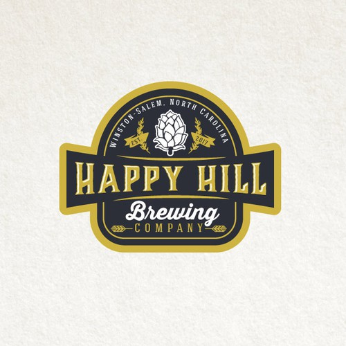 Logo design for Happy Hill