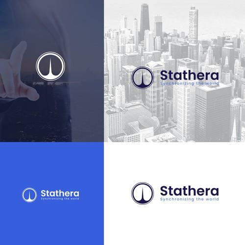 Stathera, Semiconductor company logo design.