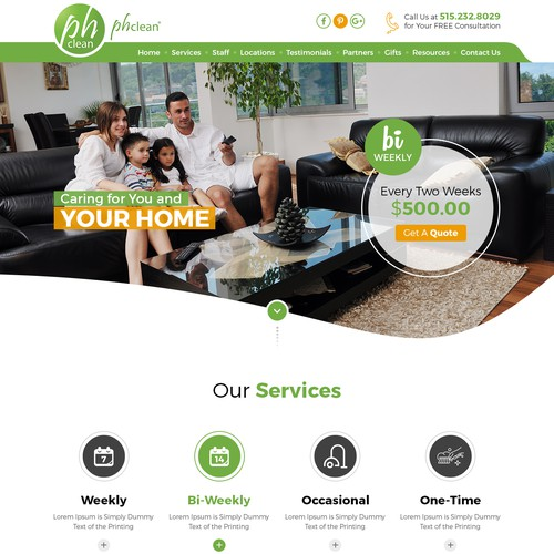 Custom wwebsite design