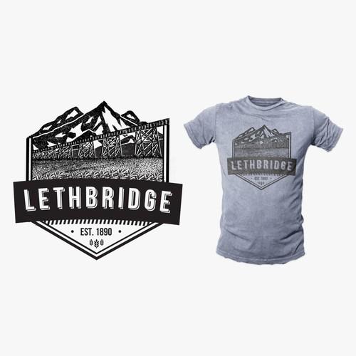 Lethbrige Mountain Scene