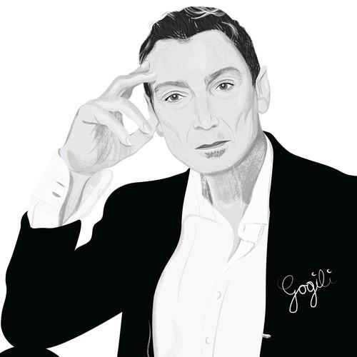 Illustration of Massimo Savić