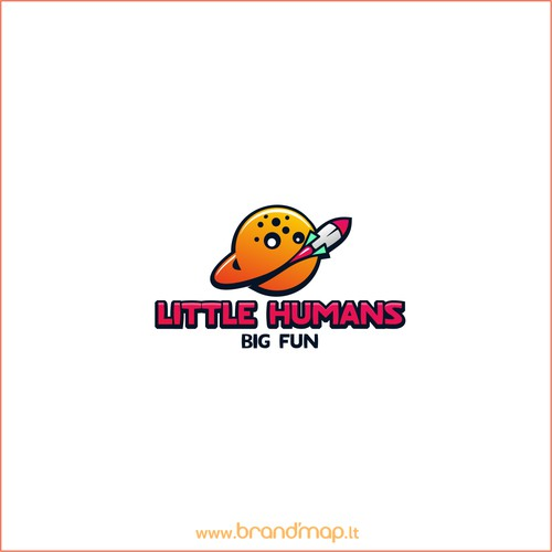 Little Humans big fun logo