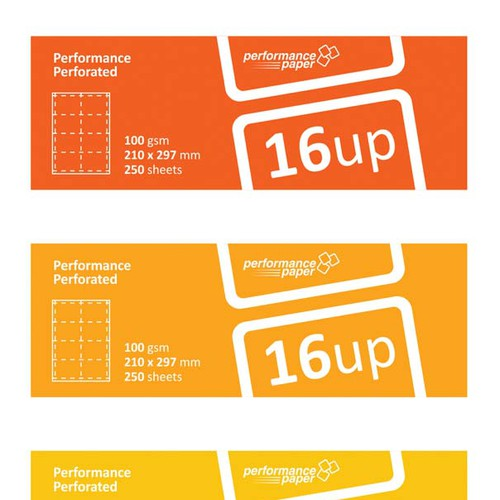 Performance Paper - Pack Labels