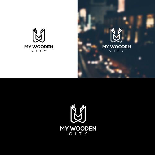 Logo Wooden City