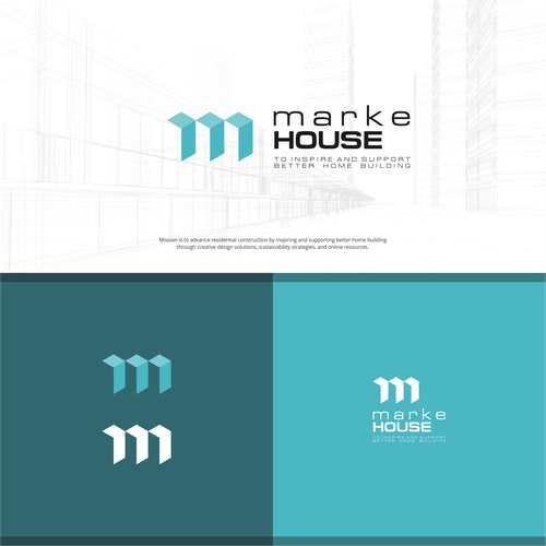 Negative space design for MarkeHOUSE