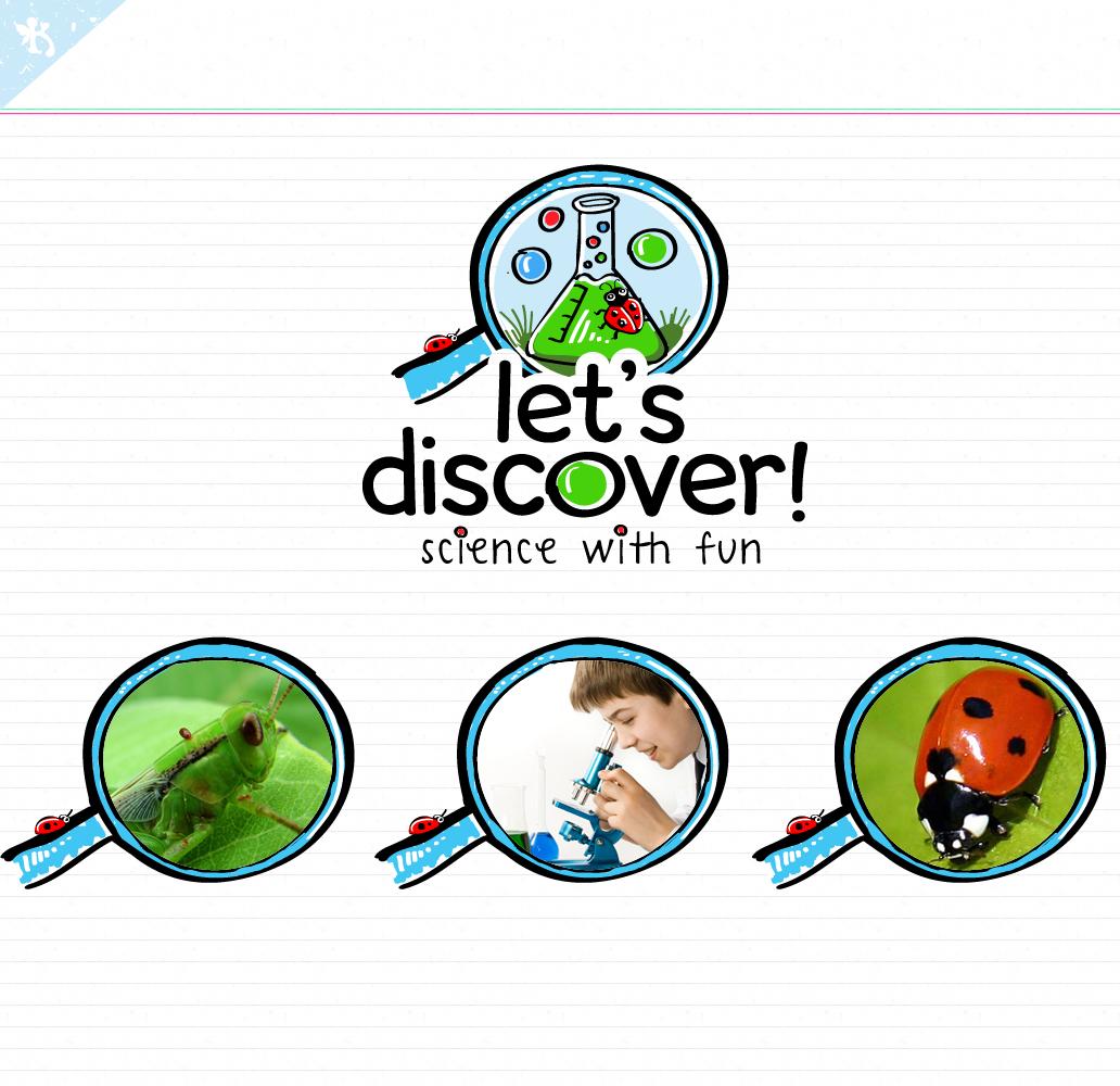 Let's discover..! needs a logo