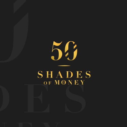 50 Shades of Money Logo Design Concept