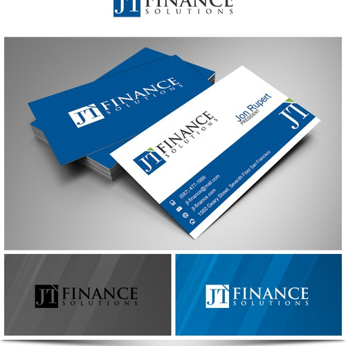 Create the next logo for JT Finance Solutions
