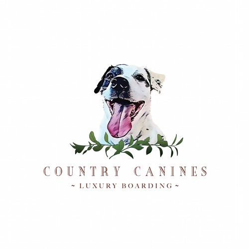 Upmarket logo for Canine Boarding