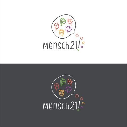 Logo for a special type of restaurant