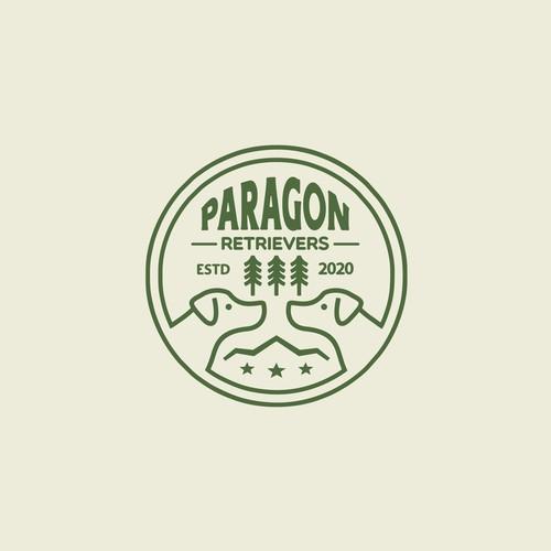 Paragon Retrievers Badge Logo