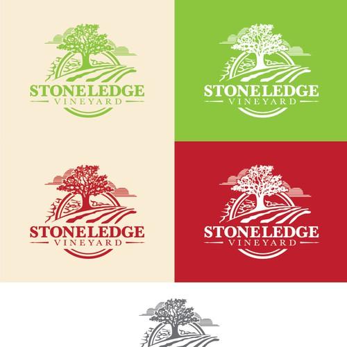 Vintage logo for Stoneledge Vineyard