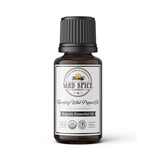 Essential Oil Label Design