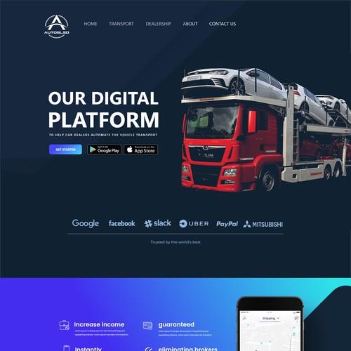 Truck Digital platform
