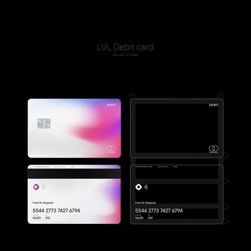 LVL Debit card design.