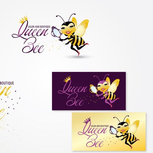 Create the next logo for Queen Bee