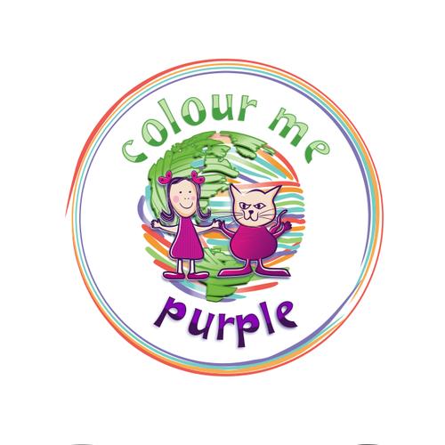 Bold logo design for  Color me