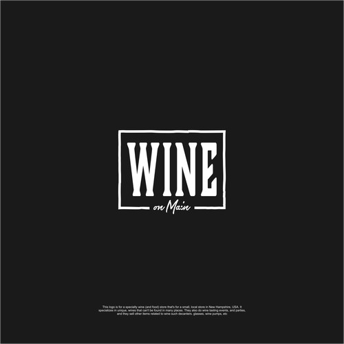 wine on main