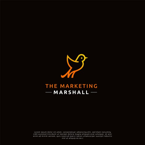 The Marketing Marshall Logo