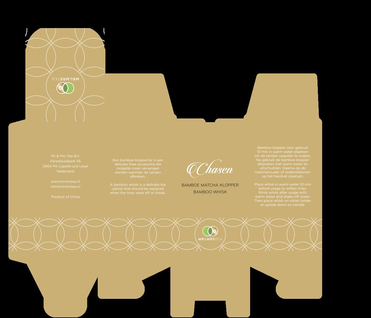 Create a stunning design for Mr & Mrs Tea's superior matcha