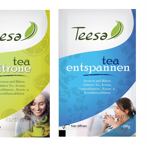 Teesa Label for tea